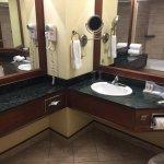 lots of room in bathroom