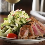 Ahi Tuna Salad....yum!