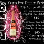 New Year's Gala Dinner flyer