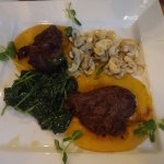 Great steak dish