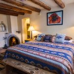 Historic romance is defined at Pueblo Bonito bed & breakfast inn- Santa Fe.