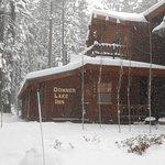 Winter at the Donner Lake Inn