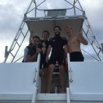 Open Water Completed! With our instructor Hunter and DM Cayden