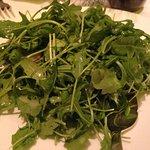 Arugula side salad