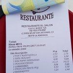 Foto de Restaurante EL SALON