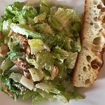 Lunch yesterday. Caesar Salad excellent with house made dressing.  Calamari interesting flavors