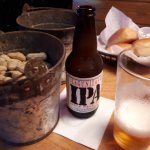 Beer and peanuts, white bread and whipped butter, bring on the calories.