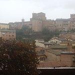 Hotel Minerva: dal balcone