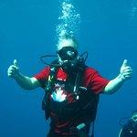 Scuba Diving at 35 feet