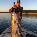You can catch fish with our local fishing guide Russ Breckenridge.