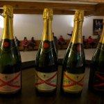 Champagne taste testing