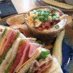 Club Sandwich, Potato Soup