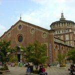 サンタ マリア デッレ グラツィエ教会 (イタリア ミラノ)