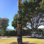 Totem Pool put on golf course by Annenbergs