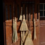 The broom maker at Landis Valley Museum