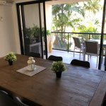 dining areas in and outside