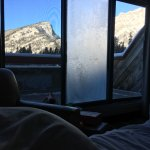 Mountain View from bed