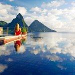 Photo de Jade Mountain Resort