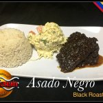 Black Roasted Beef (Venezuelan Dish)