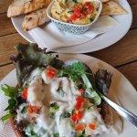 Sundried Tomato & Rosemary Dip or hummus