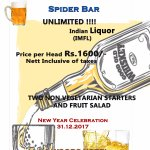 New year Offer..in our bar