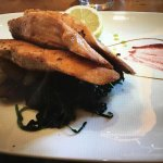 Lachs Medaillons mit Spinat