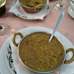 Dal Tadka (lentil with garlic and ginger)