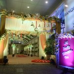 Entry of function venue.