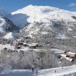 Les Verneys - Retour à ski