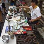 Sunday morning flea market, Jalan Hang Lekir (Jonker walk area)