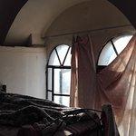 Las cortinas...