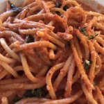 Pasta with Vodka sauce daily special - $10