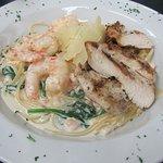 Chicken & Shrimp Alfredo