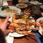 3 medium lobster halves