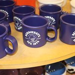 Mugs for sale.
