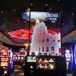 Winstar Casino - interior gaming area in the Rome section