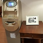 ATM inside the Hotel