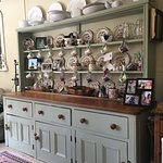 Victorian dresser in kitchen where countless hearty breakfasts are  lovingly prepared!
