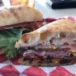 Muffuletta sandwich...just ok