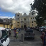 Outside of Iglesia de La Merced