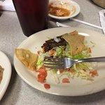 Real beef taco