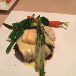 Filet Oscar with Crab - additional $10 for the one piece of crab...