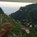View of gorgeous Amalfi! This place is a fantasy.