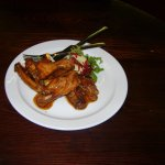 5 spice chicken wings