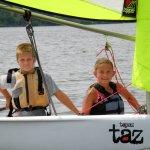 Sailing a RHYCSS Topaz Taz