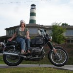 wife and motorcycle find me at A BEST DEAL MOTORCYCLES.