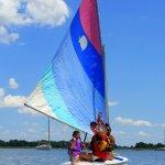Sunfish sailing rides