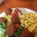 Falafel porcije