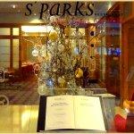 Eingang zum Restaurant S`Parks