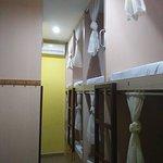 Mixed Dorm Single Bed Room